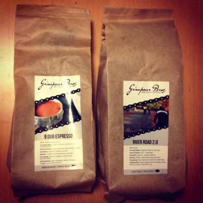 GrimpeurBros.com sneak peek: 2lb bags of our #coffee are NOW available to order exclusively @ GrimpeurBros.com! We want to give weekenders a chance to order first! FYI - Just like Grimpeur Bros.' 12oz #coffee bags, our 2 lb bags are fully compostable Biotré coffee bags. Just remove the labels & valve and they're ready for your compost pile!  Next up on our product road map: Subscription program! #grimpeur #specialtycoffee #biotre #ecofriendly #eco #rideyourbike #drinkgreatcoffee