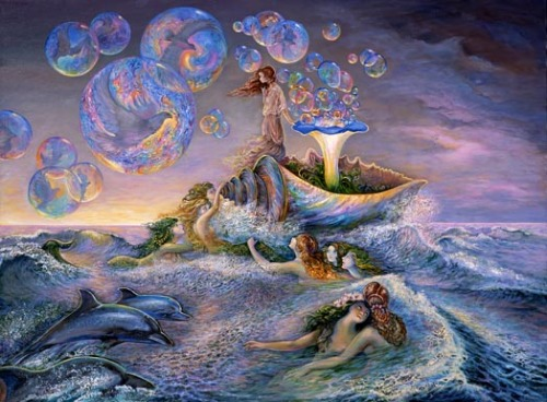 Bubble Power  by Josephine Wall