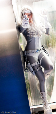 cosplaysleepeatplay:  Silver Sable cosplay http://bit.ly/Zkm5It