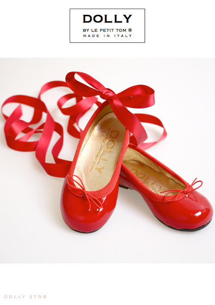 (via Le Petit Tom ® - DOLLY by Le Petit Tom ® BALLERINA'S 27GB Red Patent)