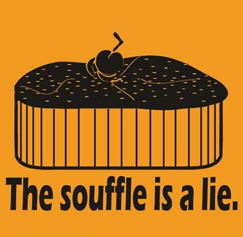 alesssophisticatedhungergames:  THE SOUFFLÉ IS NOT A LIE AFTER ALL! WHOVIANS…… ASSEMBLE!