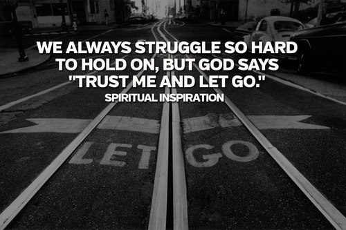 "spiritualinspiration:  We all go through disappointments, setbacks and things we don't understand. Maybe you prayed for a loved one, but they didn't get well. Or maybe you worked hard for a promotion, but you didn't get it. You stood in faith for a relationship, but it didn't work out. One of the best things you can do is release it and let it go.  If you go around dwelling on it, wondering why this didn't work out, why my loved one didn't get healed, why I didn't get that promotion, all that's going to do is lead to bitterness, resentment and self-pity. Before long you'll be blaming others, yourself, and maybe even God. You may not have understood it. It may not have been fair. But when you release it, it's an act of your faith. You're saying, ""God, I trust You; I know You're in control. And even though it didn't work out my way, You said that all things are going to work together for my good. So I believe You still have something good in my future."" Proverbs 20:24 says, ""Since the Lord is directing our steps, why do we try to figure out everything that happens along the way?""  God has you in the palm of His hand. He is directing you every step of the way. That disappointment may not have been fair, but it's all a part of your divine destiny. If you will let it go and move forward, then you're going to come into something awesome that God is about to do; not ordinary like you had planned, but extraordinary like God has planned."