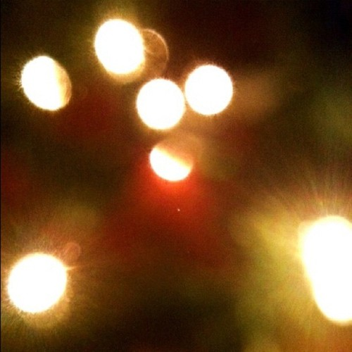 Bokeh Holiday #bokeh #holidays #photography #light #color #red #green
