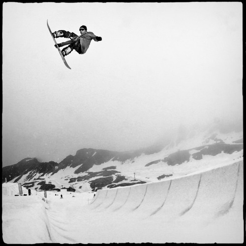 > Charles Reid, Alleyoop at Camp of Champions - Blackcomb, BC