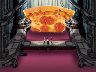 end-of-pizza:  Get in the Fucking Pizza Shinji