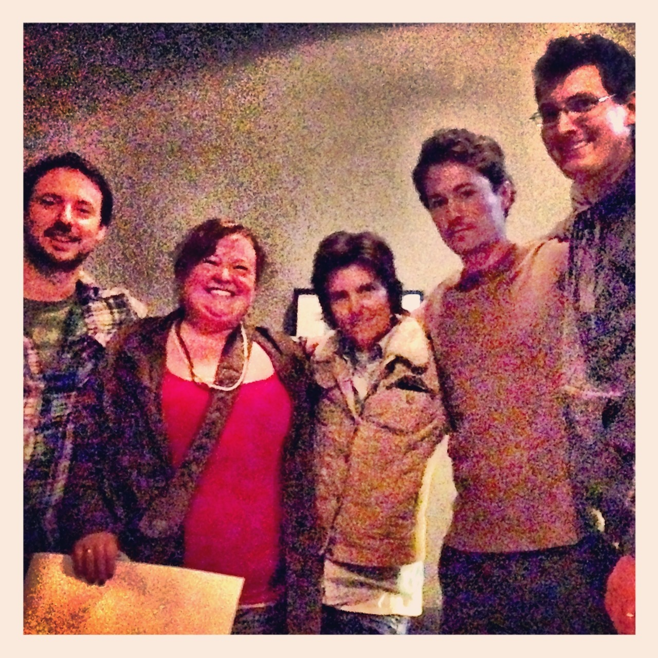 In which I get to meet the wonderful Tig Notaro and the crew from Professor Blastoff (Kyle Dunigan, David Huntsberger and Aaron Burrell).