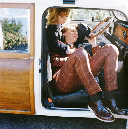 autumndewilde:  ZOE KAZAN and PAUL DANO l'uomo vogue