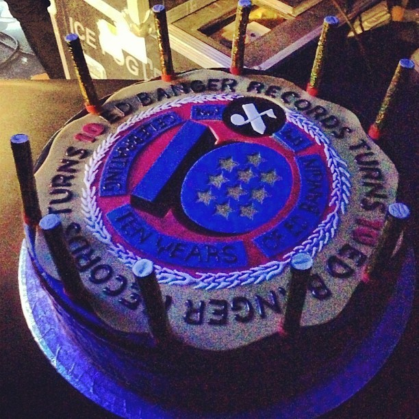 Happy B-Day @edrec ! It was EPIC #EdBanger10 @edbangerrecords (à Grande Halle de la Villette)
