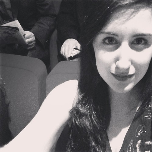 heyveronica:  #shortyawards selfie  Another Tumblr of the Year nominee. (The brains behind Binders Full of Women right here.)
