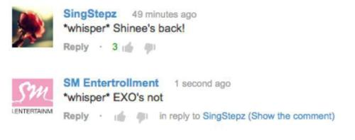 WAHAHA xD. This had me laughing so hard :)) EXO please come back soon :'(