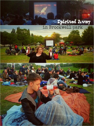 Amazing #spiritedAway free screening at #London #brockwellPark tonight