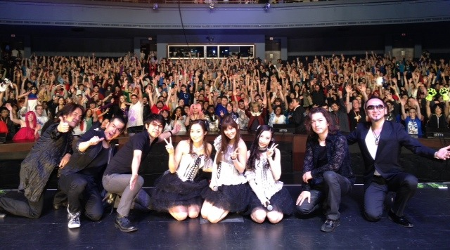 celerykalafina:  Blog post by Kalafina   I'm in Asterisk!Rukia on the leftside :)