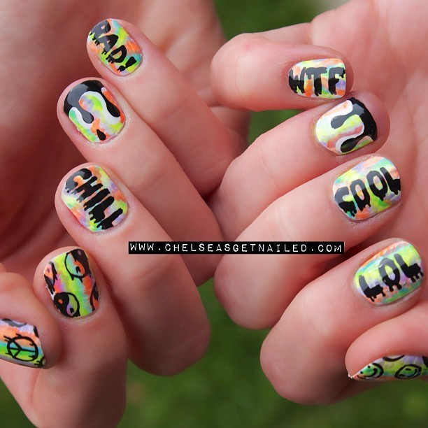 """Trippy Drippy Nails"" 💅"
