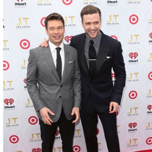 JT and Ryan. Don't women love a man in a suit?