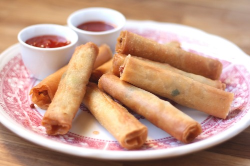 foodfetishfridays:  Filipino Lumpia by Barefeet in the Kitchen