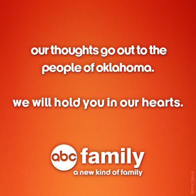 abcfamily:   To help disaster victims, please donate to American Red Cross Disaster Relief. Donate today at redcross.org or call 1-800-RED-CROSS