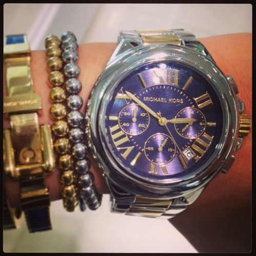 fashionbunker:  I need this watch 😩 #mktimeless by lisaborges91 http://instagr.am/p/UkANJVtq1K/