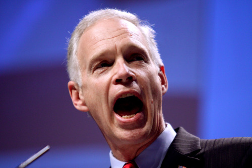 Meet Ron Johnson, the Randiest of the Ayn Rand Republicans, who's living in his very own Atlas Shrugged fantasy world.