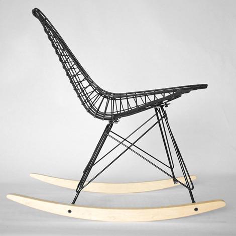 swstark:  Charles Eames RKR wire rocking chair