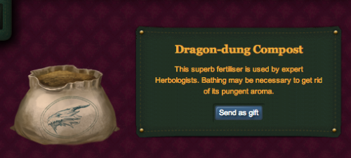 Sometimes I look at my trunk on Pottermore and think, why do I need this shit? Dragon-dung compost? Really? What will help me do? It's so f-ing irrelevant and unnecessary. for real tho.