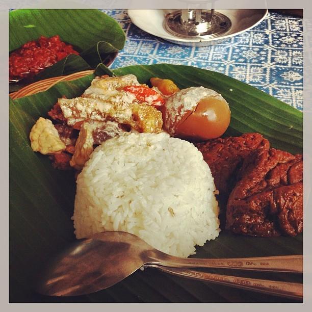 Nasi Gudeg (at Warung Simbok Solo)