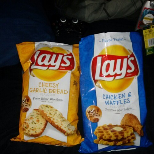 Lays finally tried them all