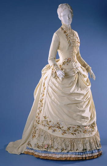 omgthatdress:  Dress 1884 The Philadelphia Museum of Art  Someday, I will own all the pretty things…