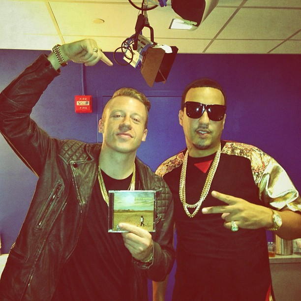 At BET celebrating the homie @frenchmontana's CD dropping tomorrow