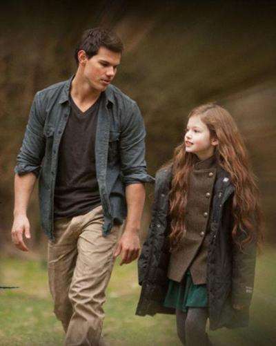 On the set of … Breaking Dawn part 2