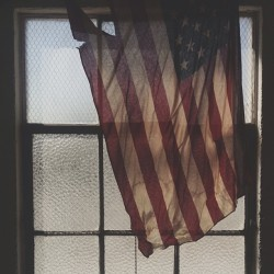 another day at the #studio #dtla #merica #flag #window #vscocam (at CurryLand)