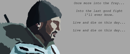 10 minute painting I did of Liam Neeson from The Grey, one of my fav films of the last few years.