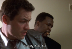 goteamjosh:  Here's an example of 85% of the dialogue from HBO's 'The Wire'.