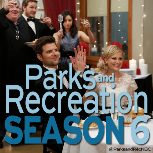 nbcparksandrec:  Get out the apps and zerts because we are ready to celebrate! Parks and Rec is coming back for Season 6!
