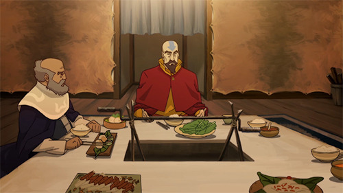exequalistmako:  I'm sorry, but the mats behind Tenzin…  CAN'T. UNSEE.