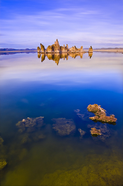 thehebrewhammer514:  Mono Lake Golden Blues by David Shield Photography on Flickr.