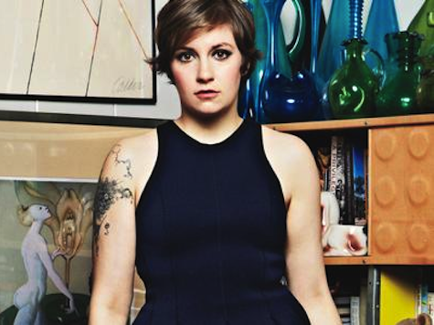 Lena Dunham   My new hero…