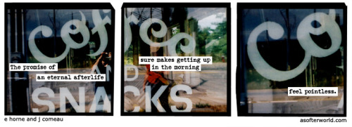 A Softer World: 918 (Nothing matters. THANKS, Obama) buy this print