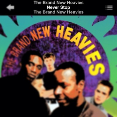 Never Stop by The Brand New Heavies! Happy Saturday, Darlin's! #ChooseYourHappy