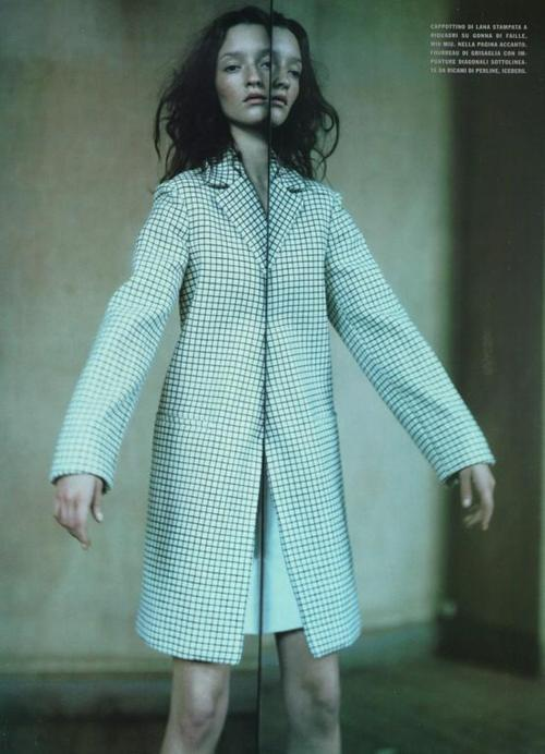 vahc:  a Mirror Story Vogue Italia October 1998, photographed by Paolo Roversi