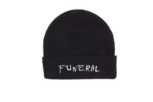 Funeral Beanies are now available at www.briuhomme.com/store