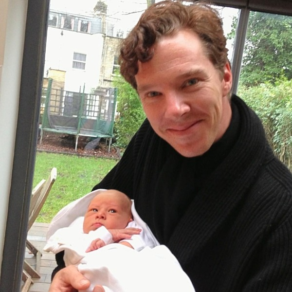 Benedict and a baby. AKA what the fuck else could you ever need out of life.