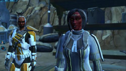 Some images (mostly expressions) from playing a bit with Hayne on both versions of Tal and Rhysta. As usual Rhysta is shameless about her criminal activities on Voss and Tal is leaking butterflies and rainbows from every fucking pore. She's also having slight difficult with her face.