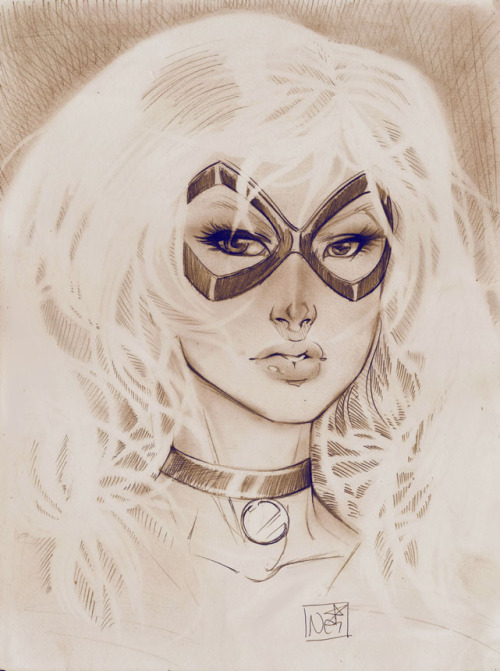 comicbookwomen:  Nei Ruffino Excellent Black Cat