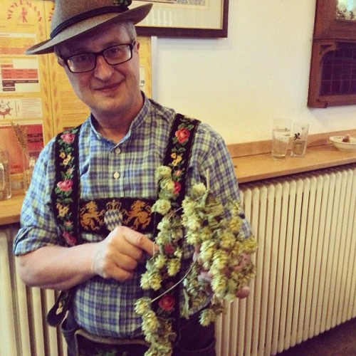 Best brewery tour ever #germany #travel #wolfgang #bavaria #murnau #hops  (at Hotel & Gasthof Griesbräu zu Murnau)