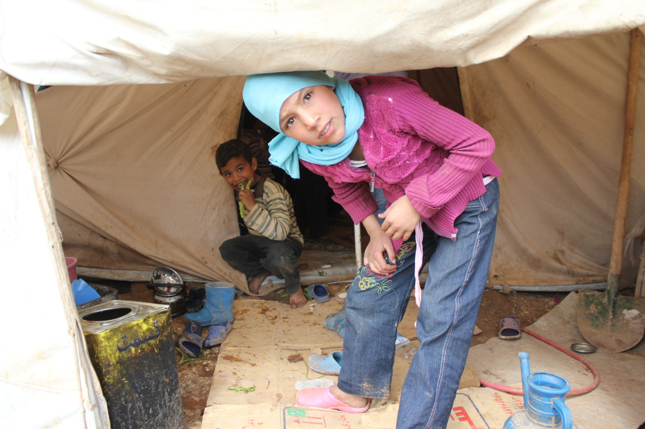 Atmeh Refugee Camp, Syria