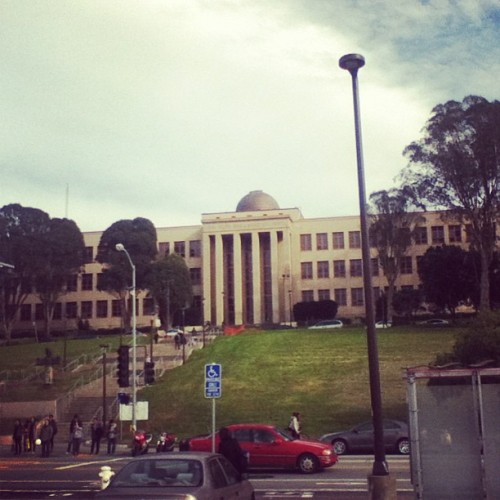 Science building!  (at City College: Science Hall)