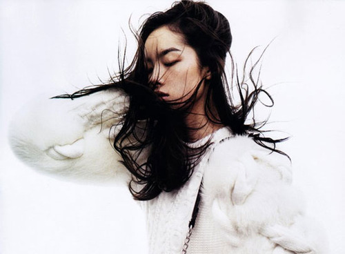 sadfag:  Fei Fei Sun shot but Josh Olins for Vogue China, November 2011.