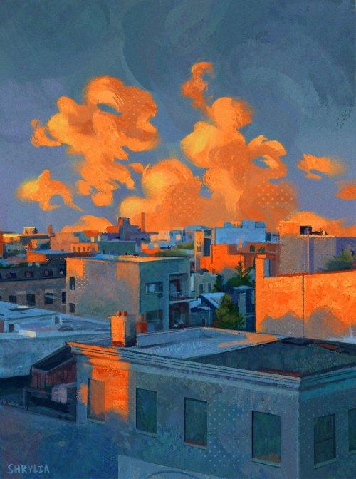 environment #49 #digital art #artists on tumblr #illustration#painting#my art#environment