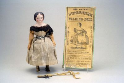 Autoperipatetikos - Walking doll (1870) Source: thestrong.org/online-collections