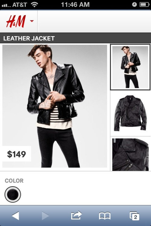 A gorgeous jacket from H&M !